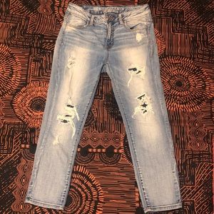 American Eagle high wasted denim jeans